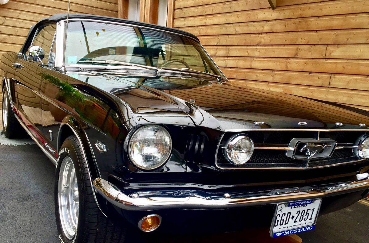 Ford mustang cabriolet 1966 vintage car sale kool and the cars