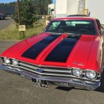 Chevrolet Chevelle Yenko 1969 - red inside black - CC101 - 1