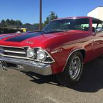 Chevrolet Chevelle Yenko 1969 - red inside black - CC101 - 3