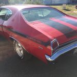 Chevrolet Chevelle Yenko 1969 - red inside black - CC101 - 4