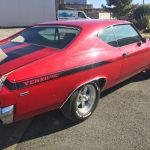 Chevrolet Chevelle Yenko 1969 - red inside black - CC101 - 6