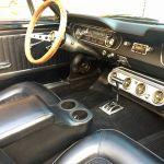 Ford mustang cabriolet 1966 - noir intérieur noir - 4