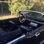 Ford mustang cabriolet 1966 - noir intérieur noir - 7