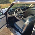 Ford mustang coupe 1964 - bleu marine intérieur bleu blanc - 6