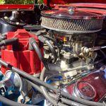 Ford mustang coupe 1965 - rouge intérieur noir - 3