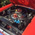Ford mustang coupe 1965 - rouge intérieur noir - 8