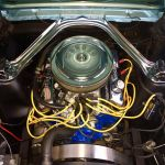 Ford mustang coupe 1966 - bleu lagoon intérieur noir - 4