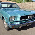 Ford mustang coupe 1966 - bleu lagoon intérieur noir - 5
