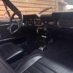 Ford mustang coupe 1966 - bleu lagoon intérieur noir - 6