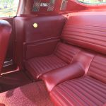 Ford mustang fastback 1966 - blanc intérieur rouge - 6