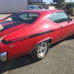 Chevrolet Chevelle Yenko 1969 - Rouge intérieur noir - CC101 - 6