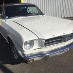 Ford mustang coupe 1965 - blanche intérieur noir - FM111 - 1