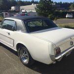 Ford mustang coupe 1965 - blanche intérieur noir - FM111 - 3