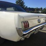 Ford mustang coupe 1965 - blanche intérieur noir - FM111 - 4