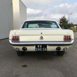 Ford mustang coupe 1965 - blanche intérieur rouge - fm109 - 4